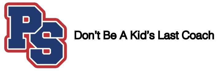 PS Tagline - Dont be a kids last coach