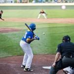 umpire at baseball game